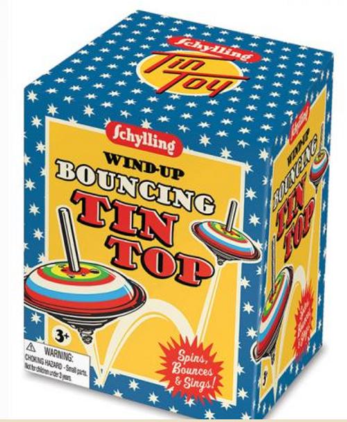 BOUNCING TIN TOP, each