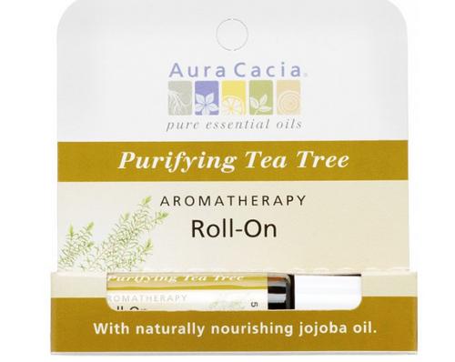AROMATHERAPY ROLL-ON, PURIFYING TEA TREE, 0.31oz