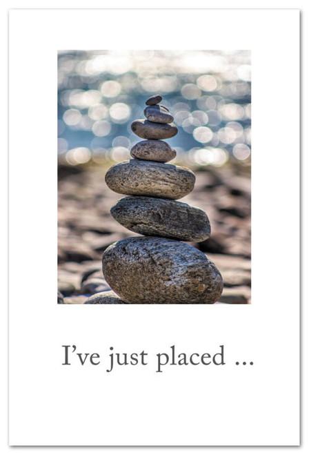 Card  Rock Cairn  support & encouragement  Cardthartic