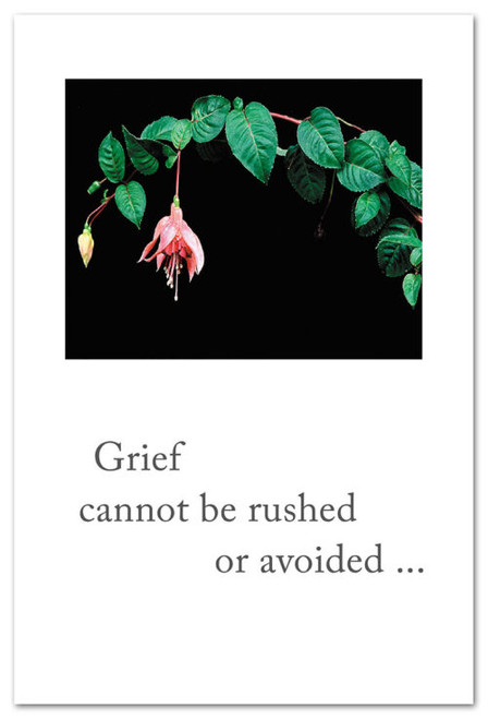 Card  Pink Fuchsia   Grief Support  Cardthartic