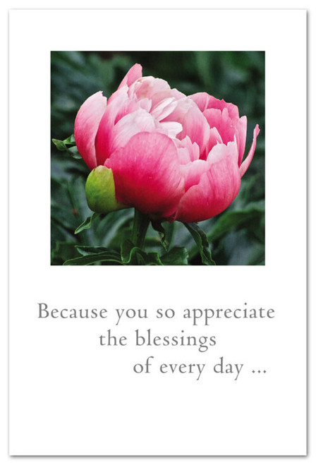 Card Mothers Day pink peony  Cardthartic