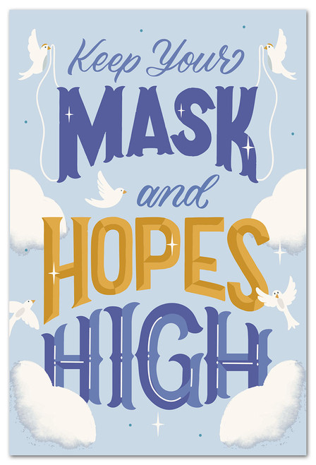 Card Many Occasions Masks & Hopes High  Cardthartic