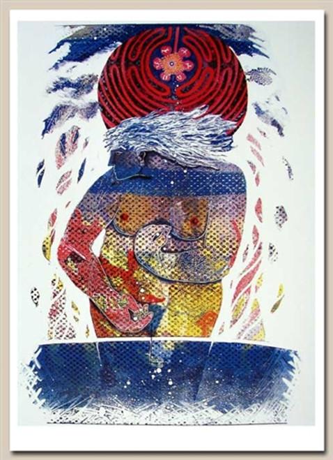Card, Gaea planting seeds of imagination  Denise Kestner
