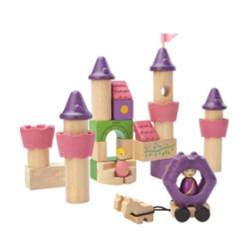 FAIRY TALE BLOCK SET, Plan Toys, 35 pieces