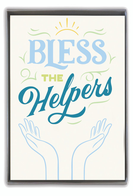 CARD Bless the Helpers  CARDTHARTIC
