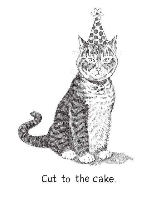 CARD cat happy birthday   asher+arden