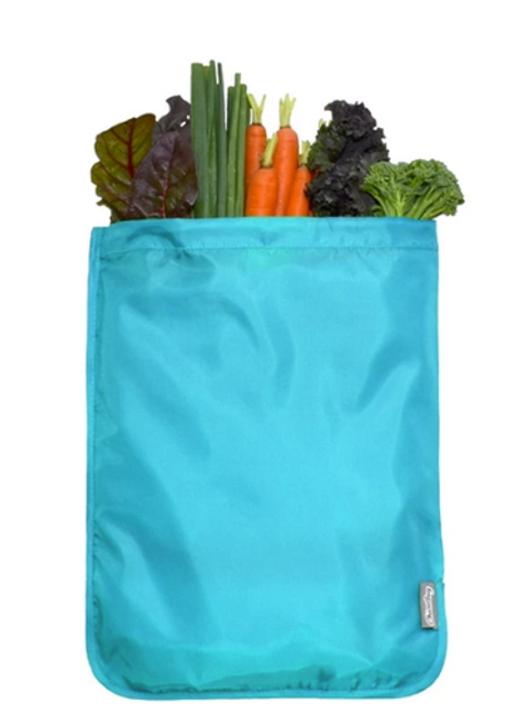 BAG, MOISTURE LOCKING PRODUCE, Chico Bags - 11.5 X 15 inches SOLID POLY GREEN
