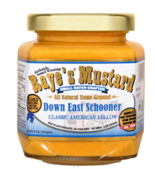 MUSTARD, DOWN EAST SCHOONER- CLASSIC YELLOW,  9 fl oz