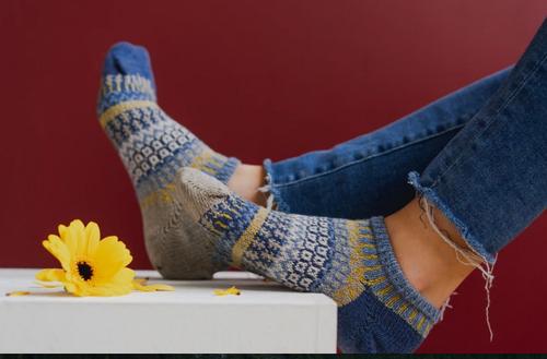 SOCKS, ANKLE SOCKS, CHICORY, Solmate Socks, 1 Pair