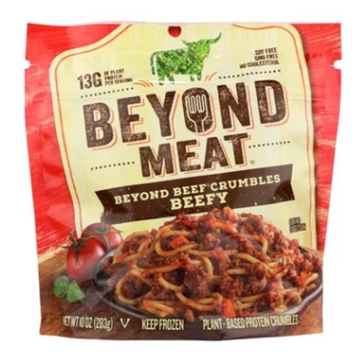 BEYOND BEEF CRUMBLES, Beyond Meat - 10 oz