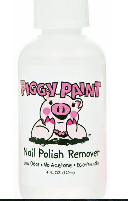 NAIL POLISH REMOVER- NO ACETONE, Piggy Paint, 4 fl oz