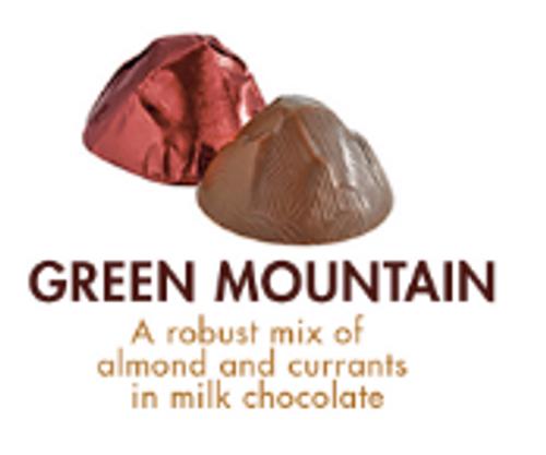 CHOCOLATES OF VT, GREEN MTN MILK CHOC, CURRANTS, ALMONDS - EACH
