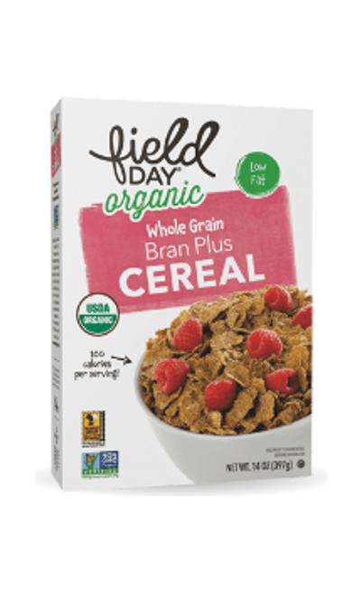 CEREAL, BRAN PLUS, Organic, Field Day - 14 oz box