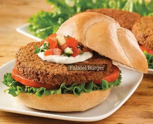 FALAFEL BURGERS, Papou's Kitchen - 4 count, 13.5 oz