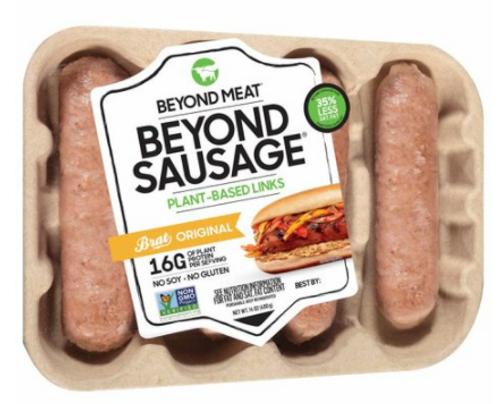 BEYOND SAUSAGE , ORIGINAL BRAT, Beyond Meat - 14 oz
