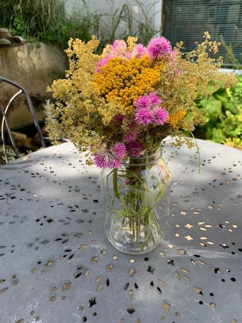 DRIED FLOWER BOUQUET, Linda L. North Brookfield