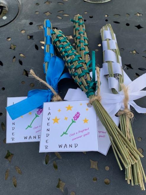 LAVENDER WAND, Linda L. North Brookfield - One wand