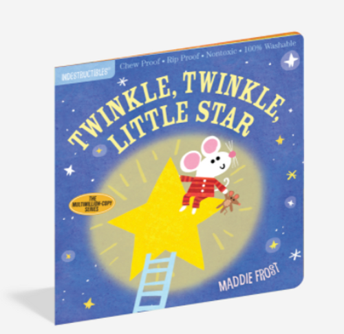BOOK, TWINKLE TWINKLE, Indestructibles - 12 Pages