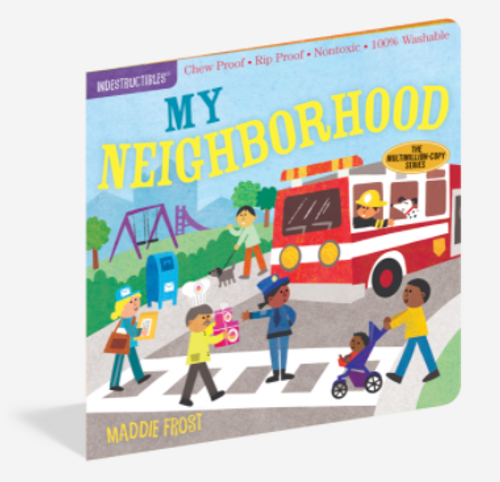 BOOK, MY NEIGHBORHOOD, Indestructibles - 12 pages