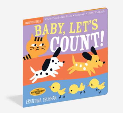 BOOK, BABY LET'S COUNT, Indestructibles - 12 pages