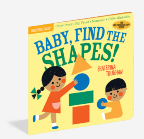 BOOK, BABY FIND THE SHAPES, Indestructibles - 12 pages