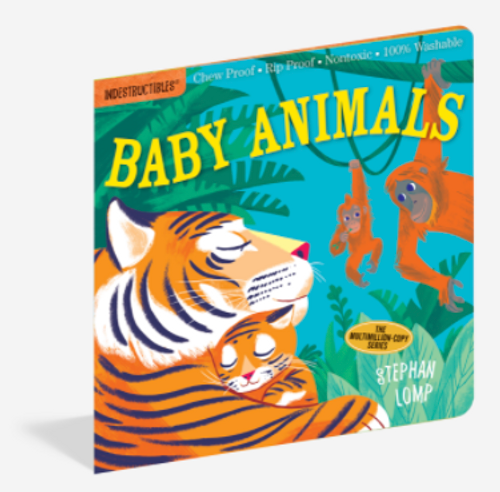 BOOK, BABY ANIMALS, Indestructibles - 12 pages