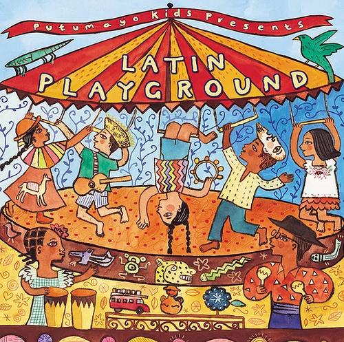 CD, LATIN PLAYGROUND, Putumayo