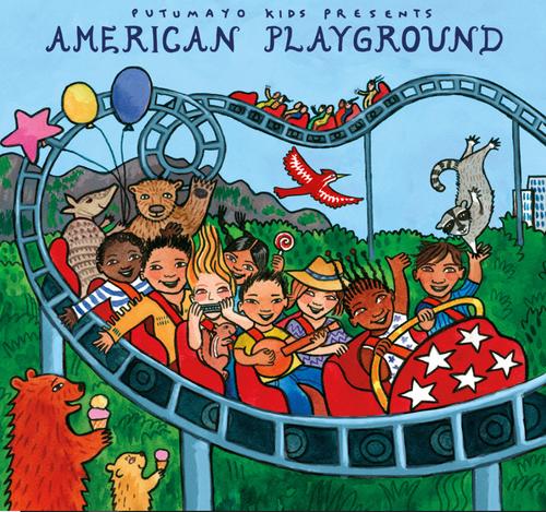 CD, AMERICAN PLAYGROUND, Putumayo