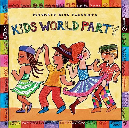 CD, KIDS WORLD PARTY, Putumayo