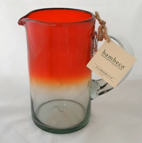 PITCHER RIOJA Red Ombre, Bambeco - 64 oz