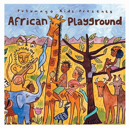 CD, AFRICAN PLAYGROUND, Putumayo