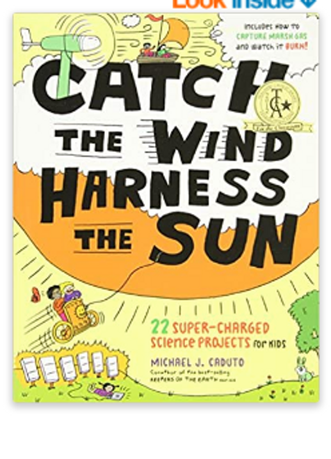 BOOK, CATCH THE WIND HARNESS THE SUN