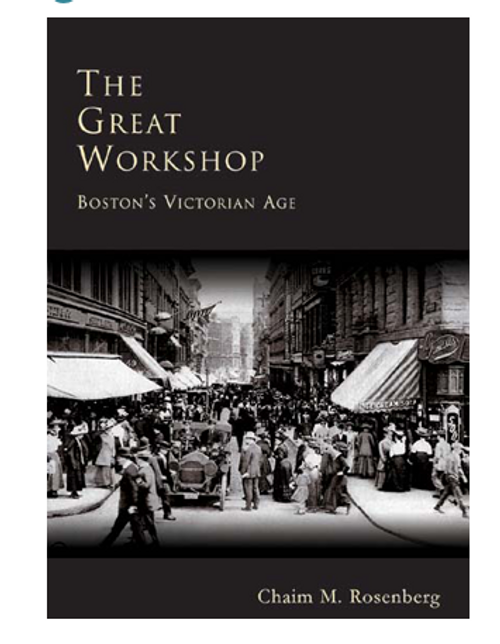 *SALE* BOOK, THE GREAT WORKSHOP BOSTON, 200 images, 176 pages, REG $24.99