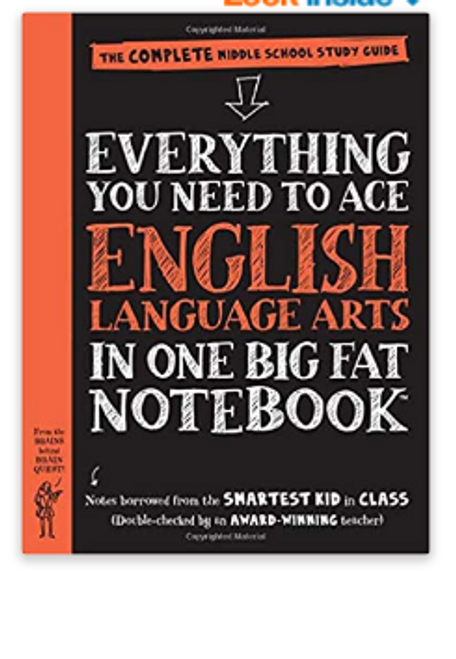 BOOK, EVERYTHING YOU NEED TO ACE ENGLISH