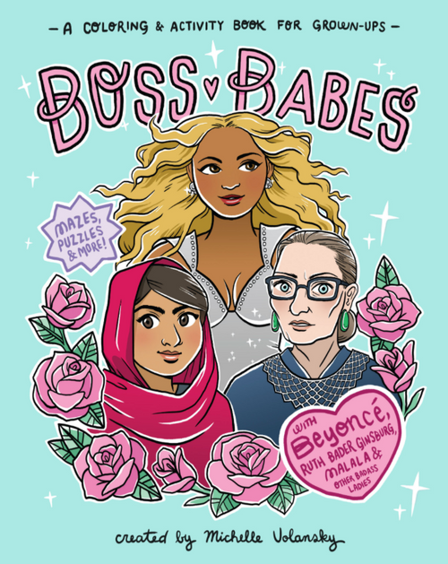 BOOK, BOSS BABES, Workman Publishing - 96 Pages