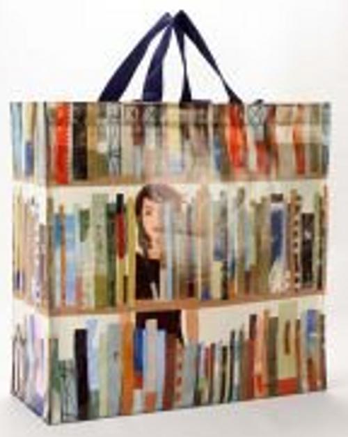 SHOPPER BAG, BOOK- BlueQ