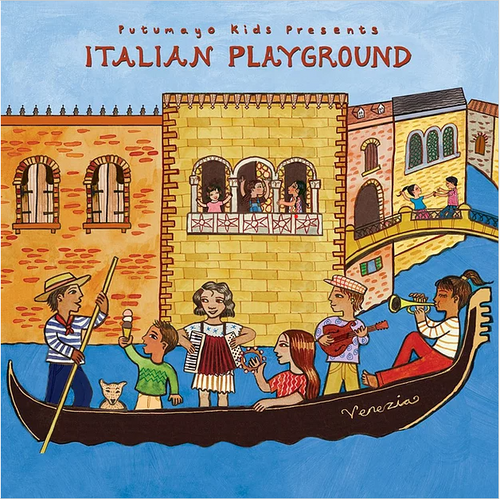 CD, ITALIAN PLAYGROUND, Putumayo