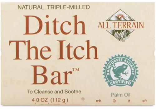 BAR, SKIN RELIEF SOAP ditch itch, All Terrain, 4 oz