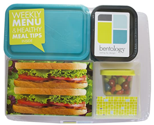 Lunch Box, Outer and 5 inner containers, Bentology - 1 Set