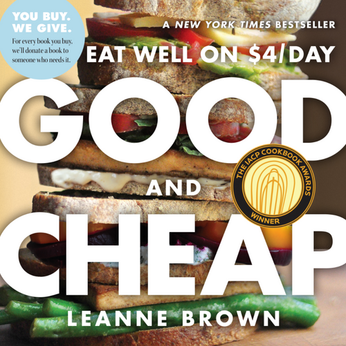 BOOK, GOOD AND CHEAP, Workman Publishing - 208 Pages