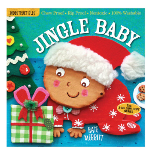 BOOK, JINGLE BABY, Indestructibles  - 12 Pages