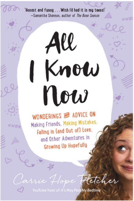BOOK, ALL I KNOW NOW, Workman Publishing - 352 Pages