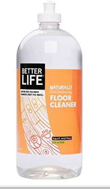 CLEANER, FLOOR, Citrus Mint, Better Life, 32 FL OZ