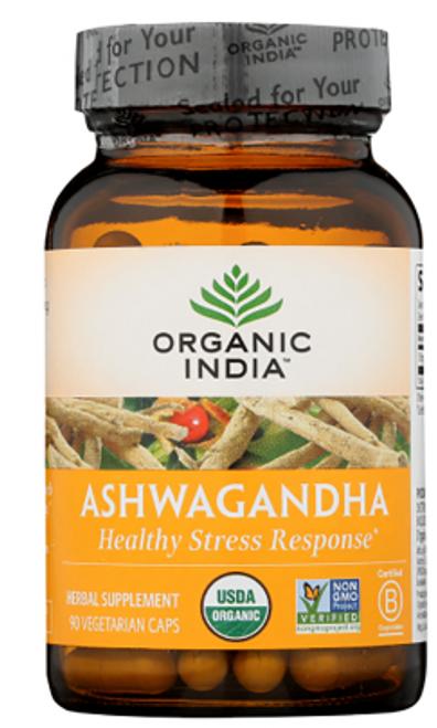 ASHWAGANDHA, Organic India, 90 Vcaps