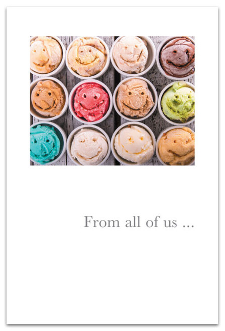 CARD BD FROM ALL SMILY FACE ICE CREAM  Cardthartic