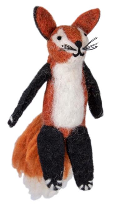 FINGER PUPPET/ORNAMENT , FREDDY FOX