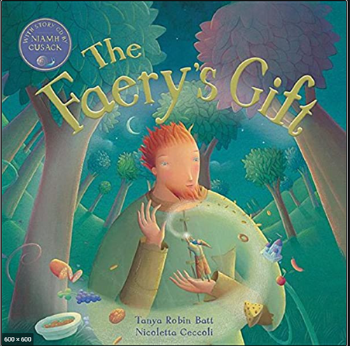 BOOK W/CD, THE FAERY'S GIFT, Barefoot Books - 32 Pages