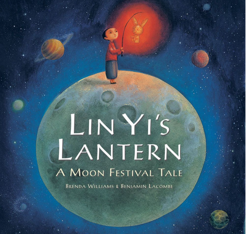 BOOK, LIN YI'S LANTERN, Barefoot Books - 32 Pages