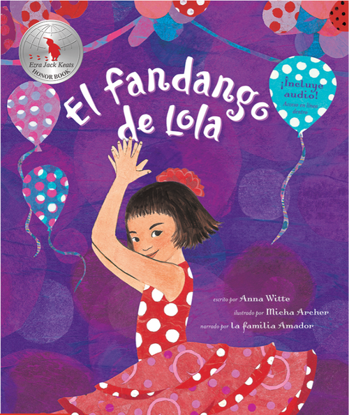 BOOK W/CD, EL FANDANGO DE LOLA, Barefoot Books - 32 Pages