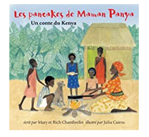 BOOK, LES PANCAKES DE MAMAN PANYA, Barefoot Press - 40 Pages